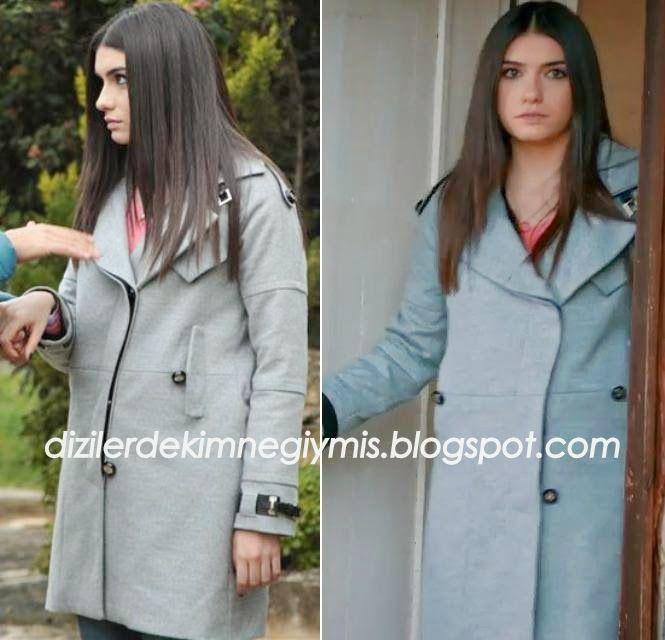 Medcezir - Eylül (Hazar Ergüçlü), Grey Coat