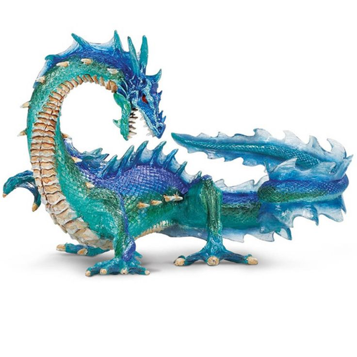 This is the Sea Dragon animal figure that is produced by Safari. The Sea Dragon is hand painted and well detailed. The Sea Dragon figure is roughly about 6 inches tall and very neat. Safari is well kn