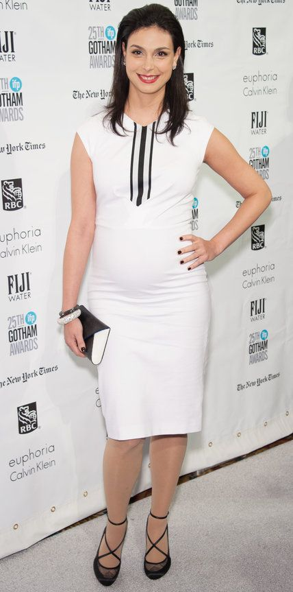 Chic Celebrity Maternity Style - Morena Baccarin - from InStyle.com