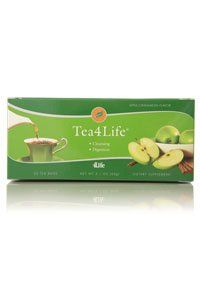 4Life Tea4Life (30 bags) by 4life. $19.95. Boasts a tasty apple-cinnamon flavor with no artificial colors, flavors, or sweetners. Features herbal extracts to support colon health by safely activating under-developed colon muscles to promote daily elimination. Provides a gentle alternative for healthy digestive cleansing. Delicious Cleansing Tea Tea4Life is a delicious blend of herbs, formulated to support internal health and balance. It gently promotes healthy digestive system ...