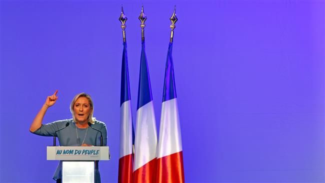 French National Front Party Leader Marine Le Pen16