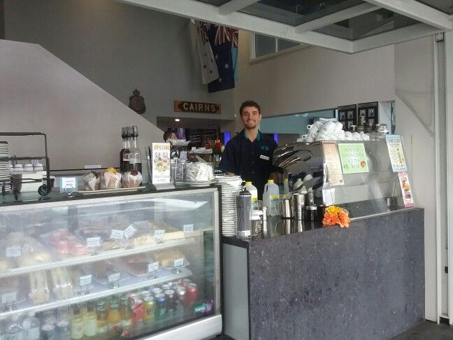 Blaise is always happy to see you #cafe #cairnsrslclub #cairnsesplanade #Cairns #FNQ #Australia #RSL