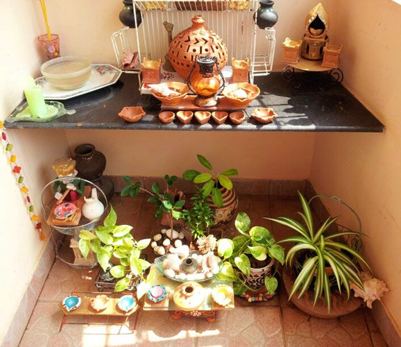 271 best images about interesting interior on pinterest for Indoor diwali decoration