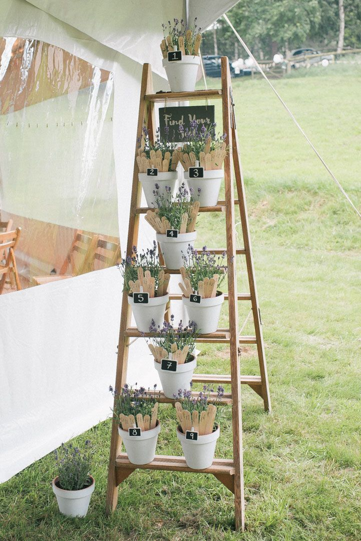 FESTIVAL BRIDES | Hannah & Conrads Village Fete Circus Themed DIY Wedding - vintage step ladder table plan  Wedding Photography by www.beckymalephotography.com