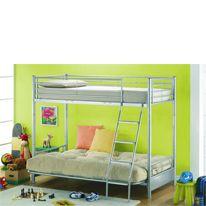 Joseph Metal Futon Bunk Bed No description http://www.comparestoreprices.co.uk/bunk-beds/joseph-metal-futon-bunk-bed.asp