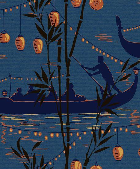Cole son gondola wallpaper pinterest - Cole son ...