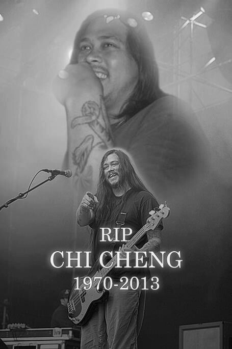 Chi Cheng, former bassist of Deftones... RIP
