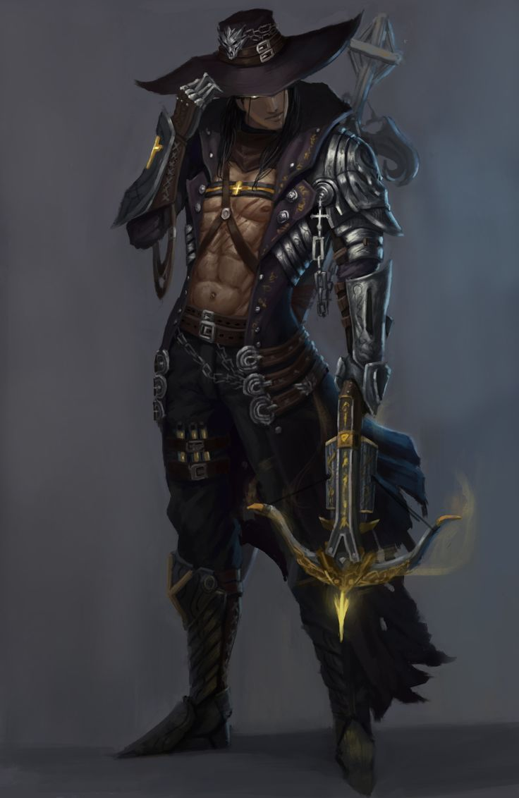 ArtStation - demon hunter, qiyu lin