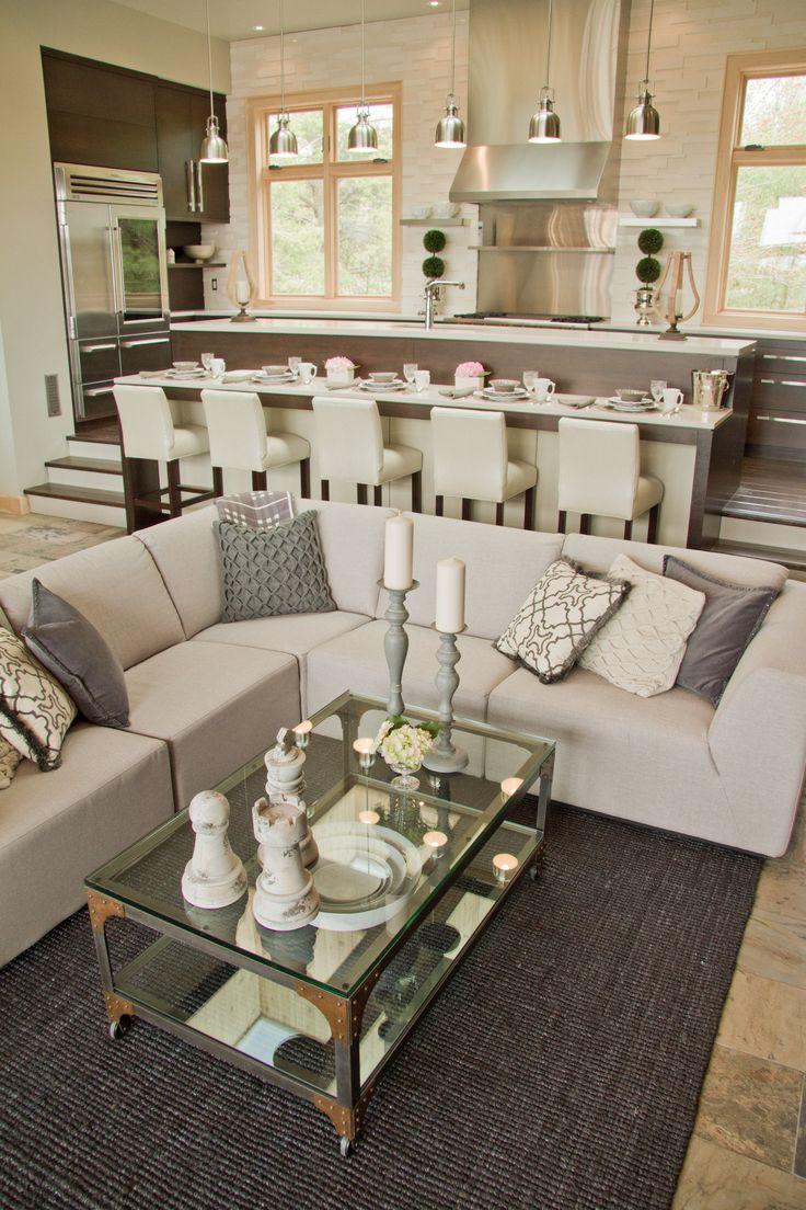 Great Room. Living Room. #bryanbaeumler #sarahbaeumler #houseofbryan2 #HOB2
