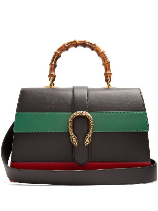 74b67a3cb697 Gucci   Dionysus bamboo-handle large leather tote   Handbags ...