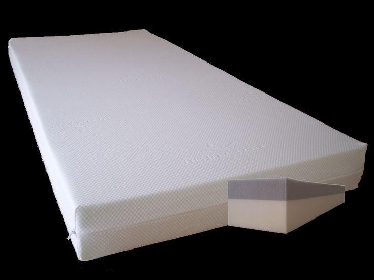 Orthopädische 2 Lagen-Komfort-Matratze 100x200x15 cm