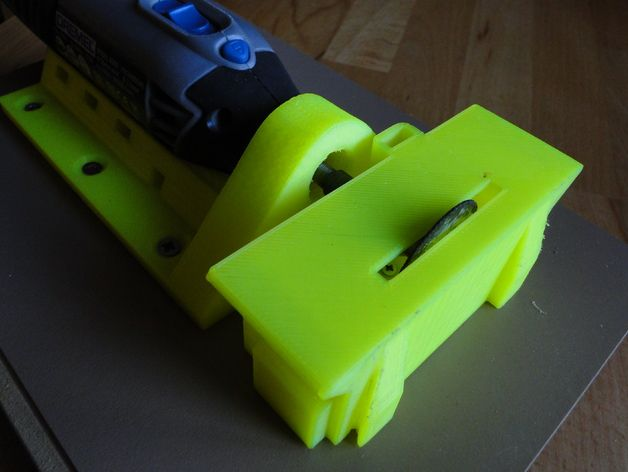 Cutting table for Dremel 4000 by oikos - Thingiverse
