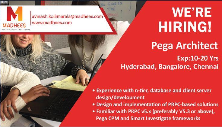 Hiring alert Nodejs Developer with 3-6 yrs experience in #NodeJS - pega architect sample resume