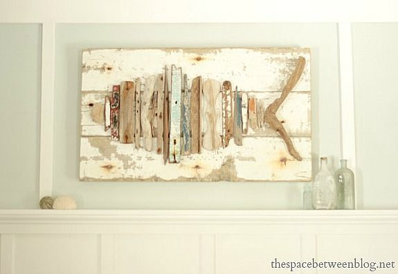 pictures of driftwood crosses | DIY Driftwood Lamp via Something Sweet Design