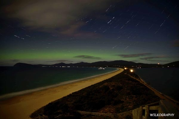 Aurora Images by WILKOGRAPHY - The Neck, Bruny Island. Article and photos by Ben Wilkinson for Think Tasmania.