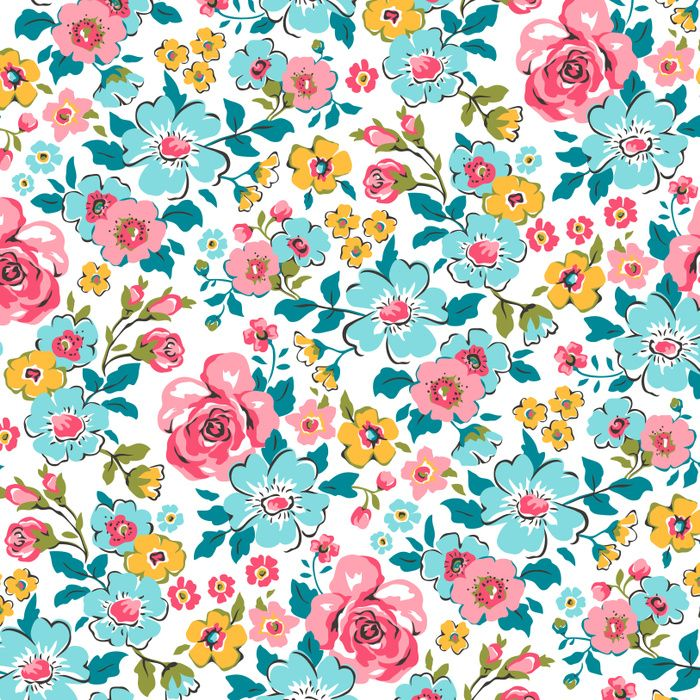 2015 Ditsy Floral Design: Ditsy Floral Art Print By Caja Design. Worldwide Shipping