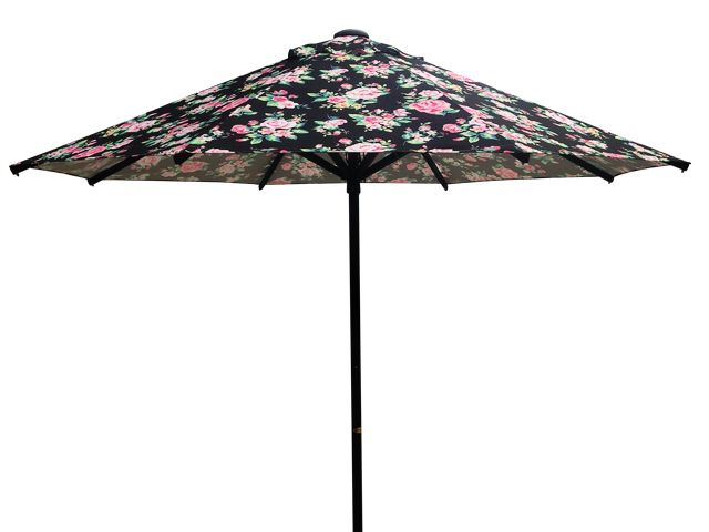 3.0 m Octagonal Umbrella Printed Sunranger Series Outdoor Umbrella with Floral print - Available at Shade Australia
