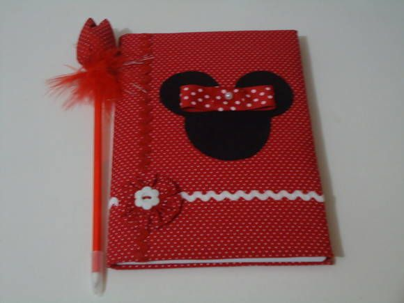 Caderno Decorado - Minnie                                                                                                                                                                                 Mais