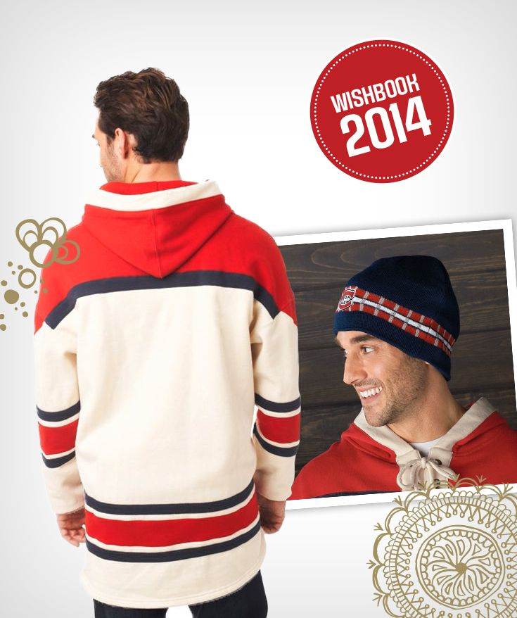 Classic NHL jerseys and beanie toques will keep you warm all winter while showing your team support!
