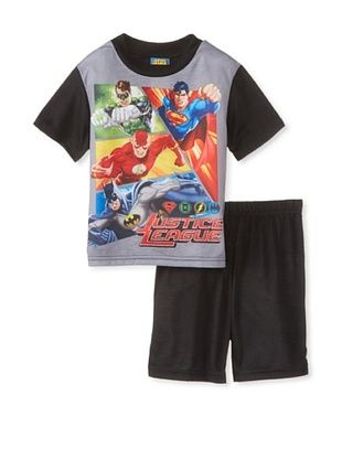56% OFF Kid's Justice League 2-Piece Pajama Set (Black)