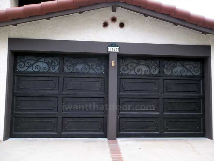 Custom Wrought Iron Garage Doors 2 Universal Iron Doors Iron Doors Garage Door Design Garage Doors