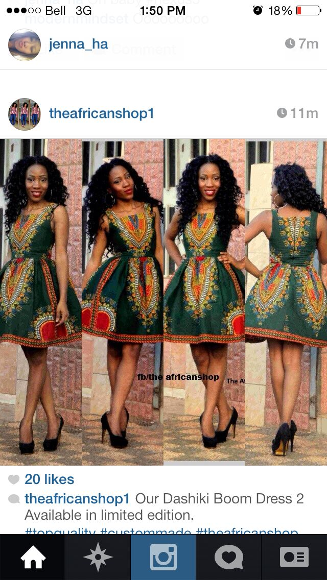 African Dress Africa Fashion Ethnic Dress Print