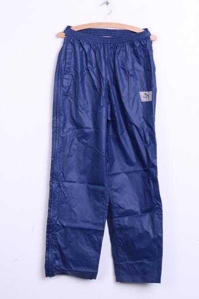 Puma Womens 7 Nylon Trousers Sweatpants Waterproof 90s vintage - RetrospectClothes