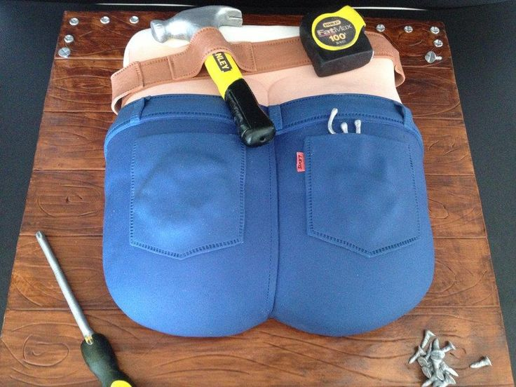 builders butt crack cake - Cake by Unusual cakes for you