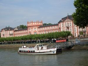 pink palace on the Rhine