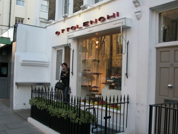 Superstar chef Ottolenghi's first outpost was here on Ledbury.  Prepared dishes & pastries do not even begin to cover the experience of eating here.   Known for his completely original fusion of Middle Eastern  & classic Mediteranean influences that took London  literally by a storm,  his fame has now spread worldwide with the diffusion of his three cookery books - de rigeur on every  home chef's discerning shelf:  Ottolenghi, Plenty and most recently Plenty More.