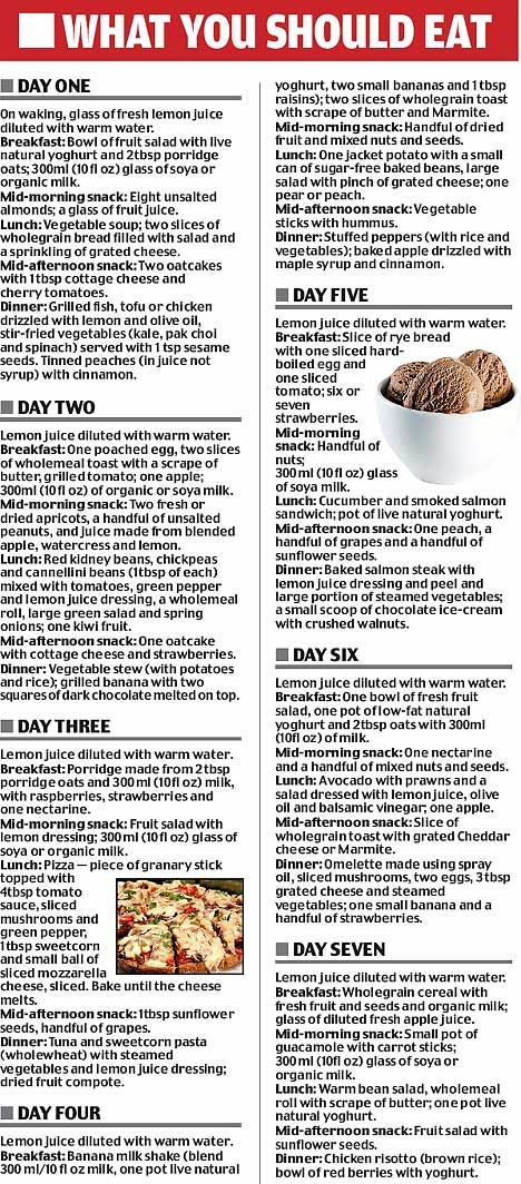 Lose weight for Christmas with the Lemon Juice Diet | Mail Online