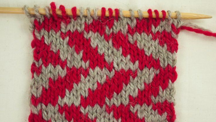 Alexis Winslow explains the basics of Fair Isle knitting and how to read a color work chart.