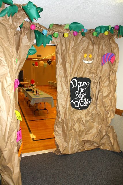 LDS Stake Activity Days Alice in Wonderland themed activity. (This would be great for Young Womens too)!