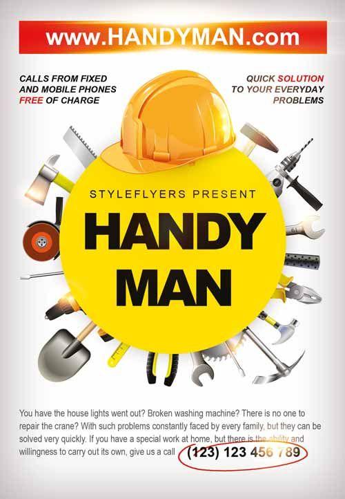 26 best Handyman images on Pinterest | Business cards, Business ...