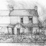 Custom house portrait drawing the perfect gift #house