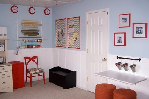 playroom: Home Office, Basement