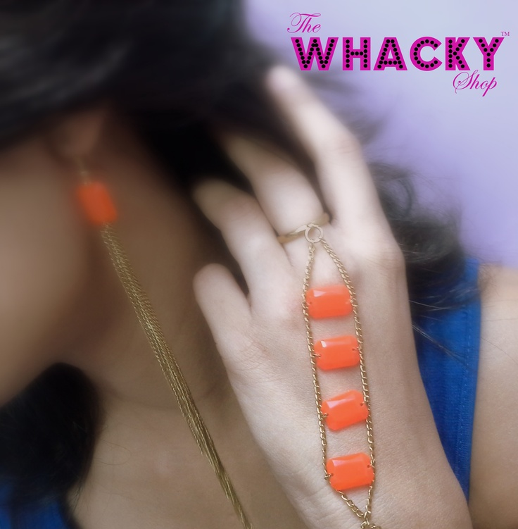 Neon set (Code 12)  Price - Rs 600 (for both)