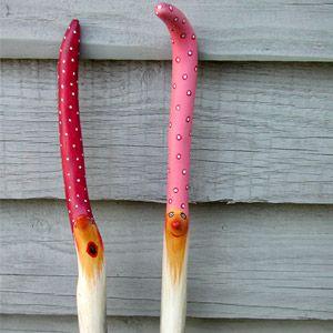 best 25 painted sticks ideas on pinterest stick art stick crafts and sticks. Black Bedroom Furniture Sets. Home Design Ideas