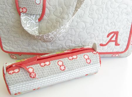 Pencil case--just darling!