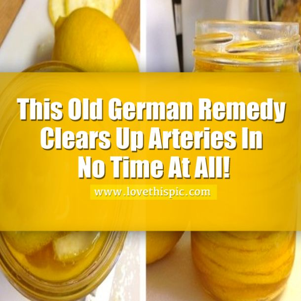 All Natural Remedies For Clogged Arteries