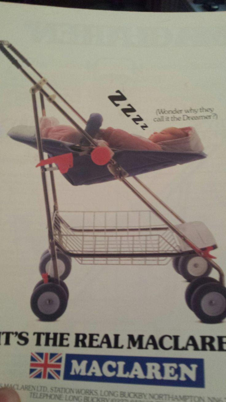 Macaren dreamer pushchair …