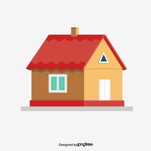 Cartoon Red Roof Villas Cartoon Vector Hand Painted Cartoon Villa Png Transparent Clipart Image And Psd File For Free Download In 2020 Red Roof Castle Illustration Building Illustration