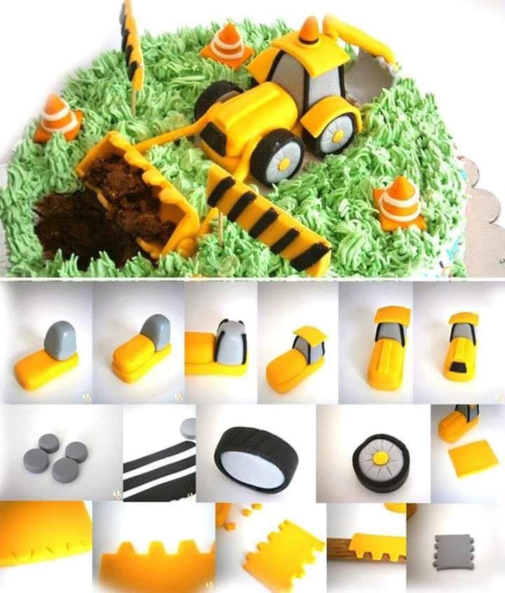 Pin By Samp Laster On Carros: Die Besten 25+ Bagger Torte Ideen Auf Pinterest