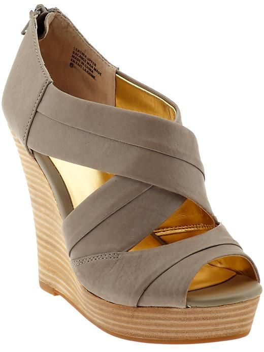 Perfect summer wedge - Shoes and beauty