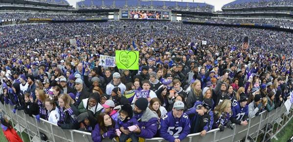 Super Bowl Champion Baltimore Ravens Homecoming Celebration No more ...