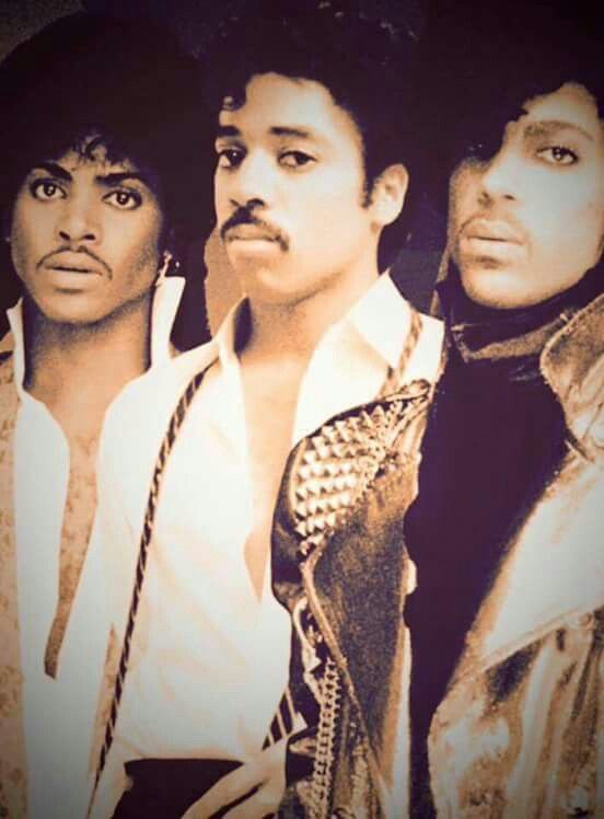 From left, Jesse Johnson, Morris Day, and Prince.