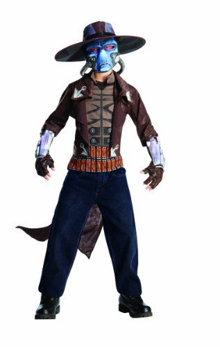 Star Wars The Clone Wars, Child's Deluxe Costume And Mask, Cad Bane Costume, Medium Rubie's Costume Co http://www.amazon.com/dp/B003KN3O2K/ref=cm_sw_r_pi_dp_0Q5rvb1JC2G55