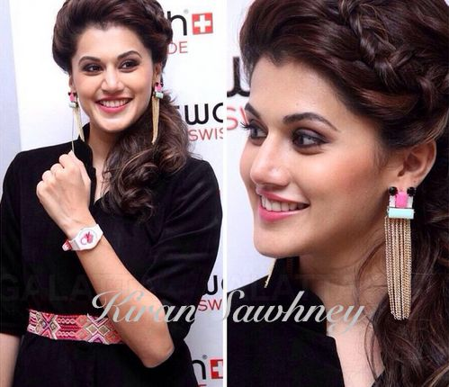 Top Indian fashion and lifestyle blog: Taapsee Pannu at Swatch launch, Chennai