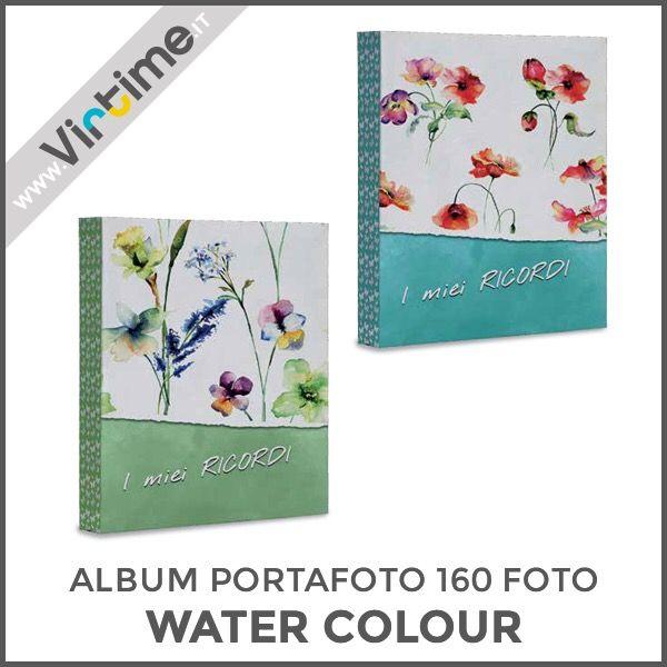 "Album portafoto 160 foto tasche formato 13 x 18 cm, modello ""WATER COLOUR"". Disponibile in 4 versioni. Confezione: termoretraibile Dimensioni: 20,5 x 28,5 X 4 cm Ref. S36209/18 #Virtime #virtimeclock #virtimehome #milan #italy #italiandesign #interiordesign #decoring #italianfurniture #house #homeart #photography #photobook #photoshoot #photographylovers #pictures #quality #fotografia #linkinbio #lovethem #nature #flowers #heart #cover #lavender #iloveyou  #I #YOU"