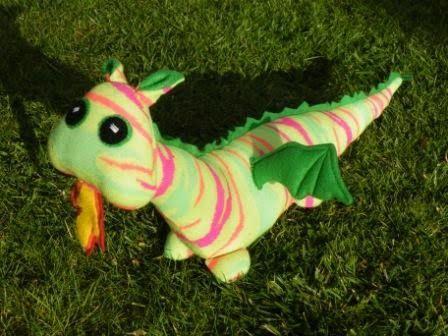 Sock Dragon Tutorial - My Sock Creatures